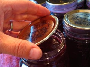 Wipe jar rim clean before you place lid on jar