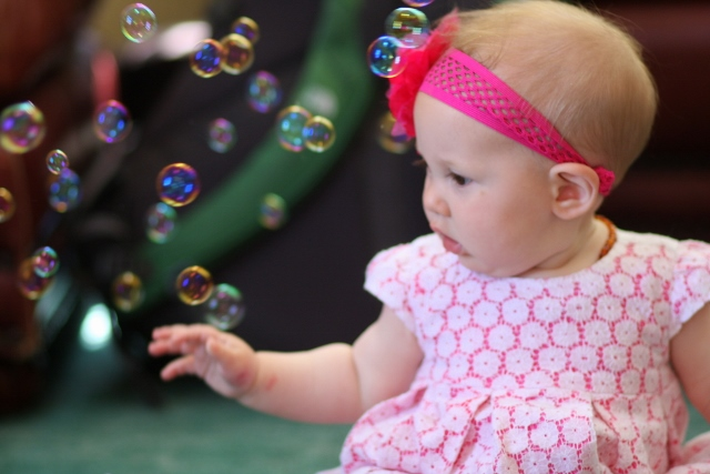 Amazed by bubbles