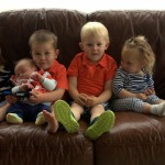 Five sweet kiddos