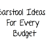 Barstool ideas for every budget